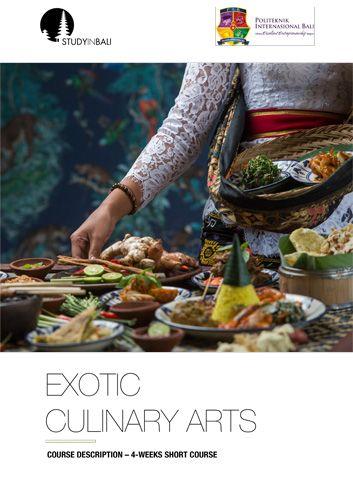 SIB Culinary Arts SC 06 - Short Course I Exotic Culinary Arts