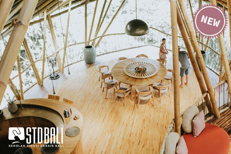 StudyInBali I Tropical Interior & Green
