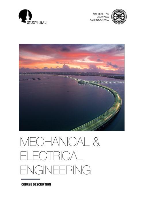 SIB MechanicalElectrical Engineering Couruse Program 01 - Mechanical & Electrical Engineering