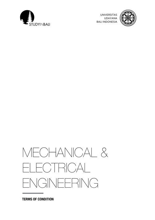 SIB MechanicalElectrical Engineering TOC 02 - Mechanical & Electrical Engineering